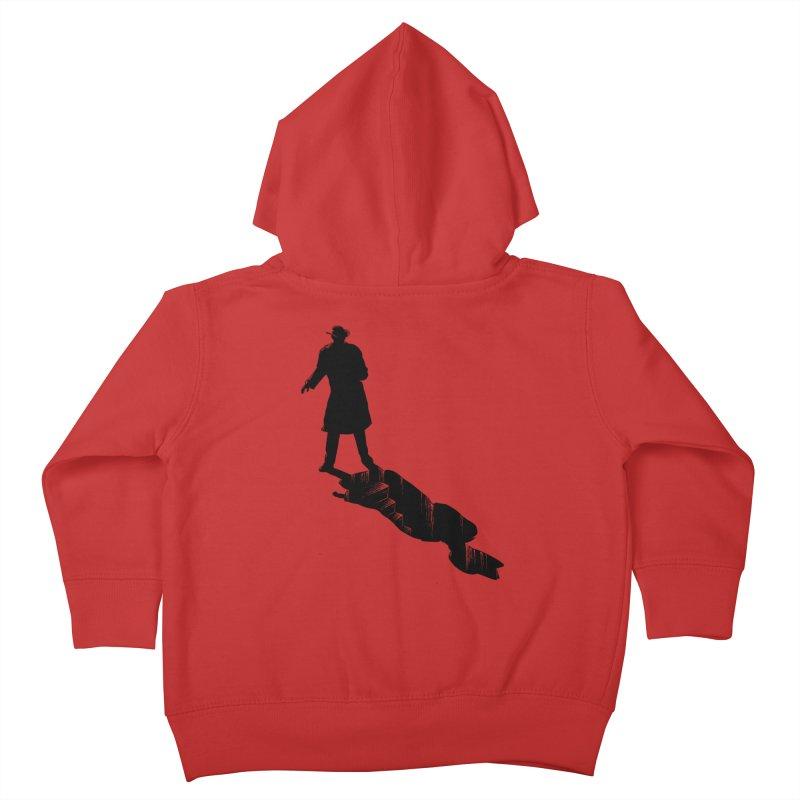 The 2nd Man Kids Toddler Zip-Up Hoody by jmg's Artist Shop