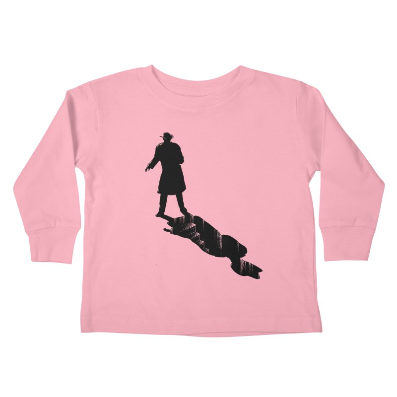 The 2nd Man Kids Toddler Longsleeve T-Shirt by jmg's Artist Shop