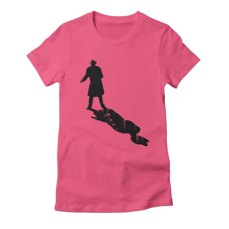 The 2nd Man Women's Fitted T-Shirt by jmg's Artist Shop