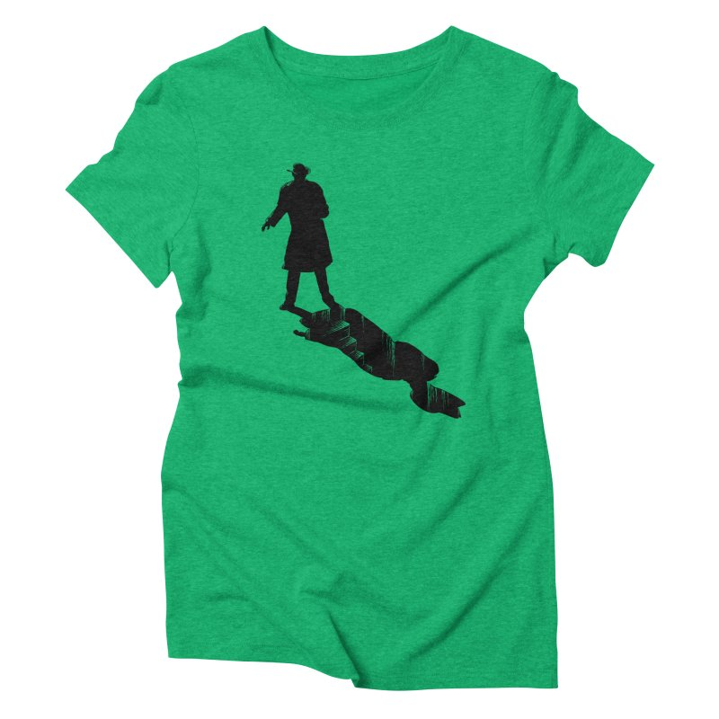 The 2nd Man Women's Triblend T-Shirt by jmg's Artist Shop