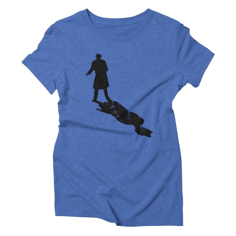 The 2nd Man Women's Triblend T-Shirt by jmg's Artist Shop