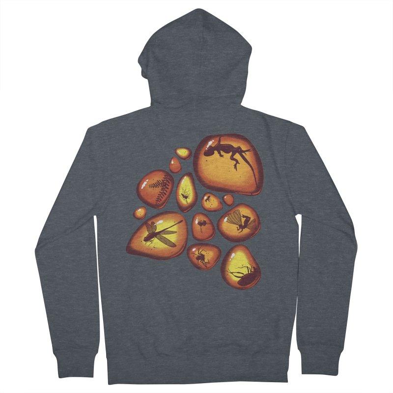 Amber Men's Zip-Up Hoody by jmg's Artist Shop