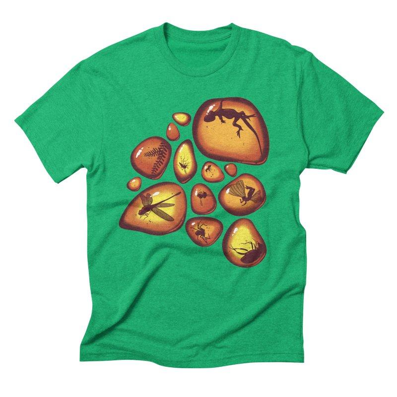 Amber Men's Triblend T-Shirt by jmg's Artist Shop