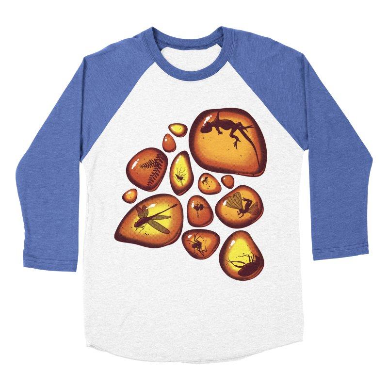 Amber Women's Baseball Triblend T-Shirt by jmg's Artist Shop