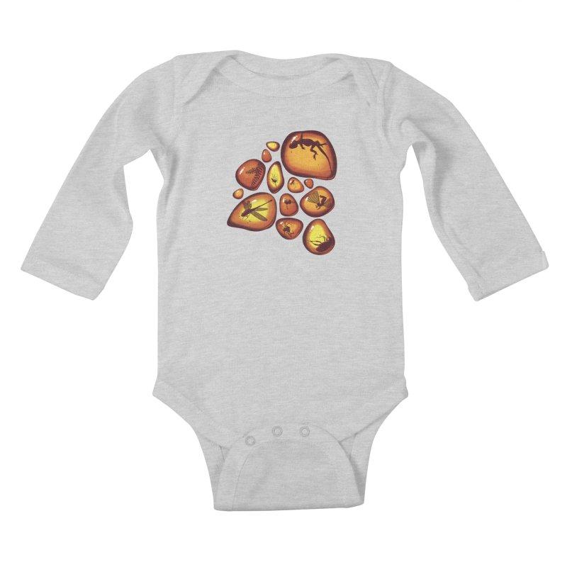 Amber Kids Baby Longsleeve Bodysuit by jmg's Artist Shop