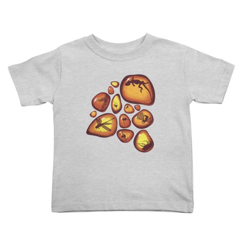 Amber Kids Toddler T-Shirt by jmg's Artist Shop