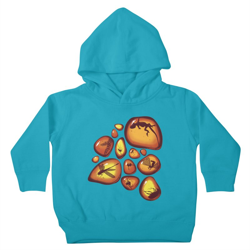 Amber Kids Toddler Pullover Hoody by jmg's Artist Shop