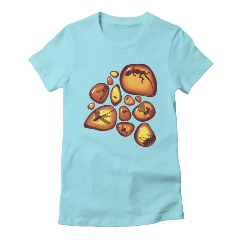 Amber Women's Fitted T-Shirt by jmg's Artist Shop
