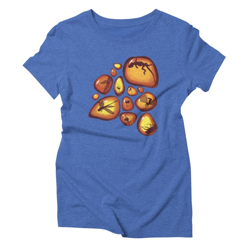 Amber Women's Triblend T-shirt by jmg's Artist Shop