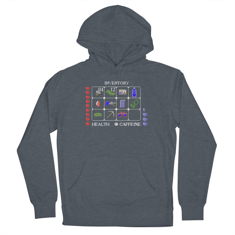 8-bit Inventory Men's Pullover Hoody by jmg's Artist Shop