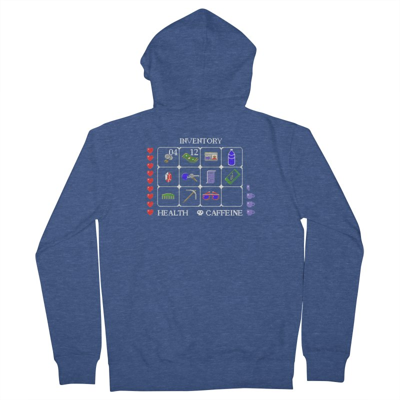 8-bit Inventory Women's Zip-Up Hoody by jmg's Artist Shop