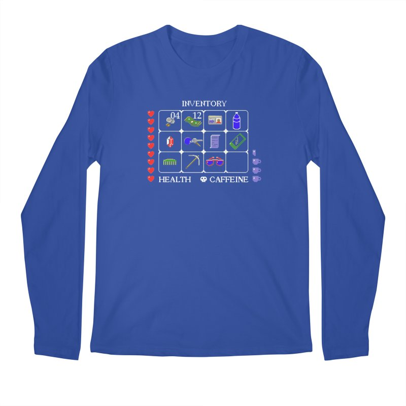 8-bit Inventory Men's Longsleeve T-Shirt by jmg's Artist Shop