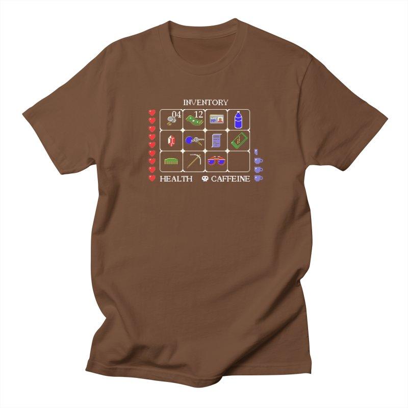 8-bit Inventory Men's T-shirt by jmg's Artist Shop
