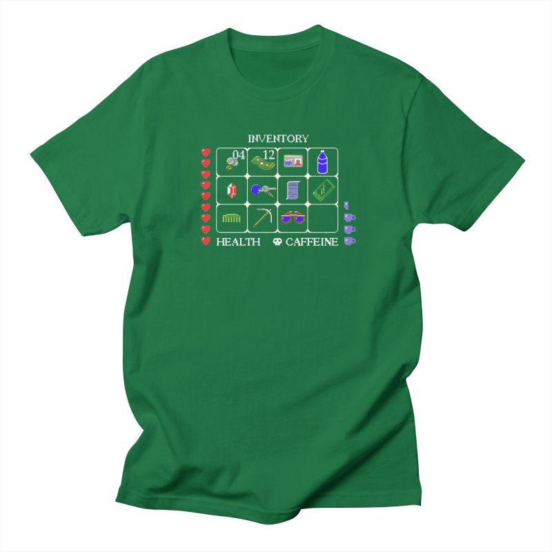 8-bit Inventory Men's T-shirt by jmg's Artist Shop