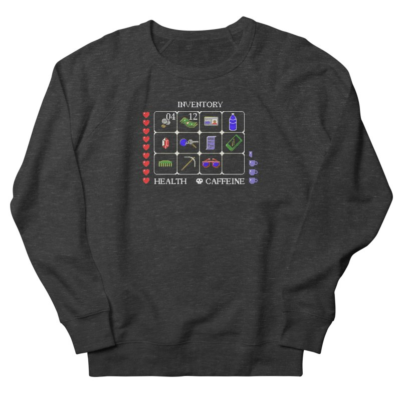 8-bit Inventory Men's Sweatshirt by jmg's Artist Shop
