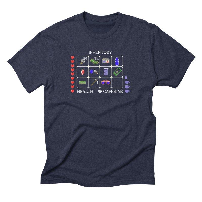 8-bit Inventory Men's Triblend T-Shirt by jmg's Artist Shop