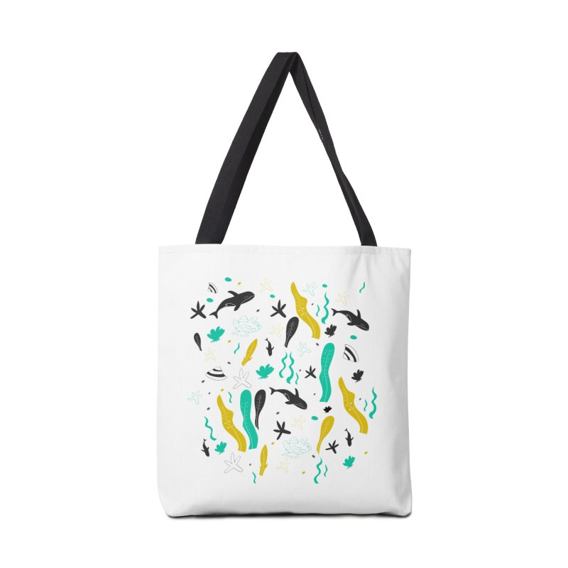 Under the sea pattern Accessories Bag by JMK's Artist Shop