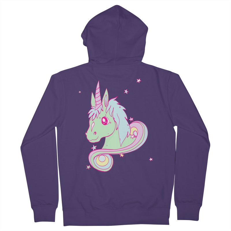 Unicorn mix Women's Zip-Up Hoody by JMK's Artist Shop