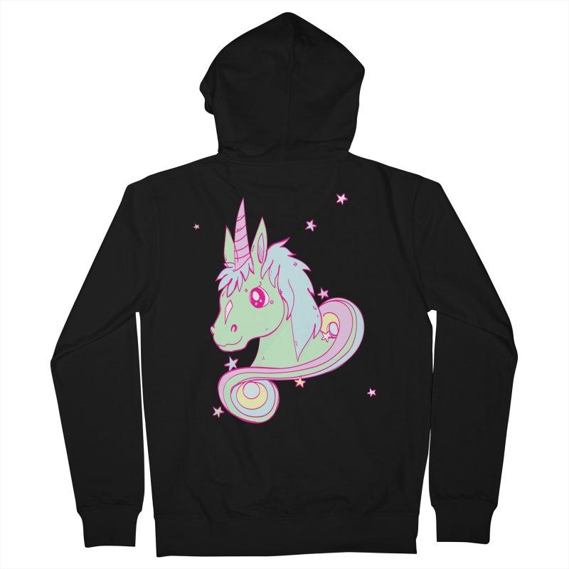 Unicorn mix Women's Zip-Up Hoody by JMK's Artist Shop