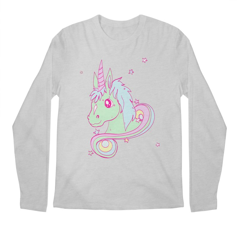 Unicorn mix Men's Longsleeve T-Shirt by JMK's Artist Shop
