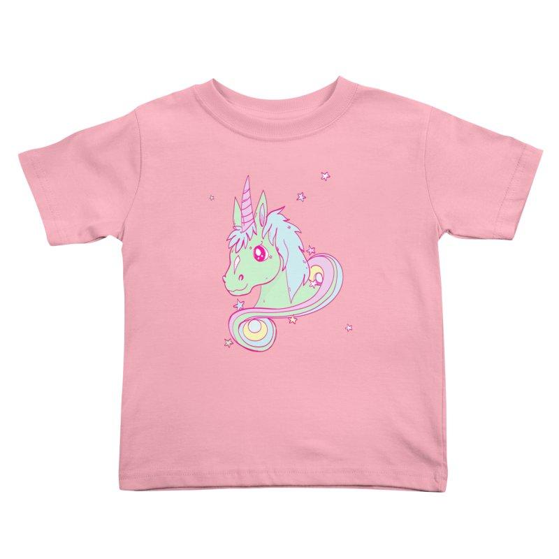Unicorn mix Kids Toddler T-Shirt by JMK's Artist Shop
