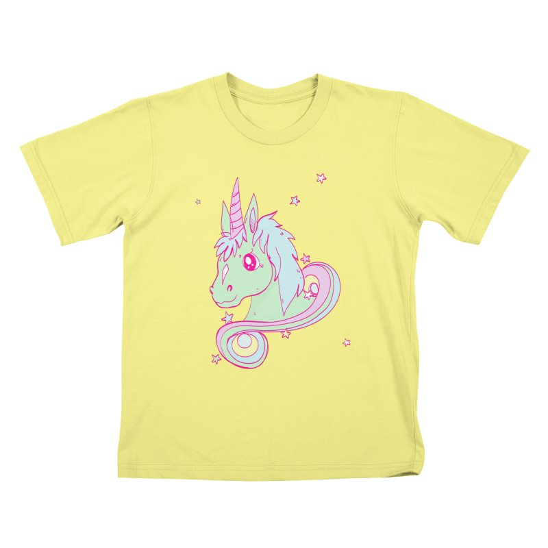 Unicorn mix Kids T-shirt by JMK's Artist Shop