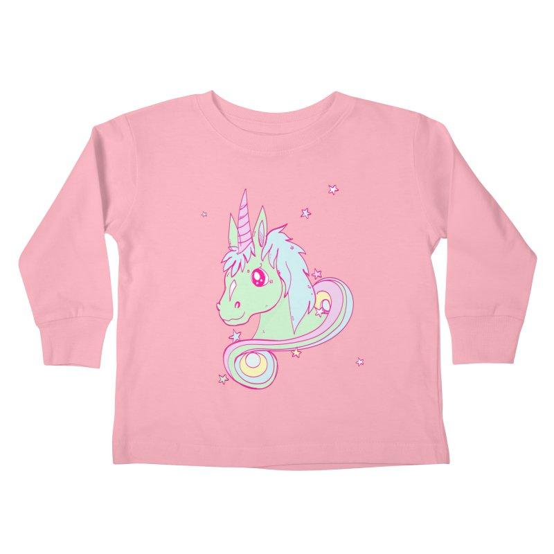 Unicorn mix Kids Toddler Longsleeve T-Shirt by JMK's Artist Shop