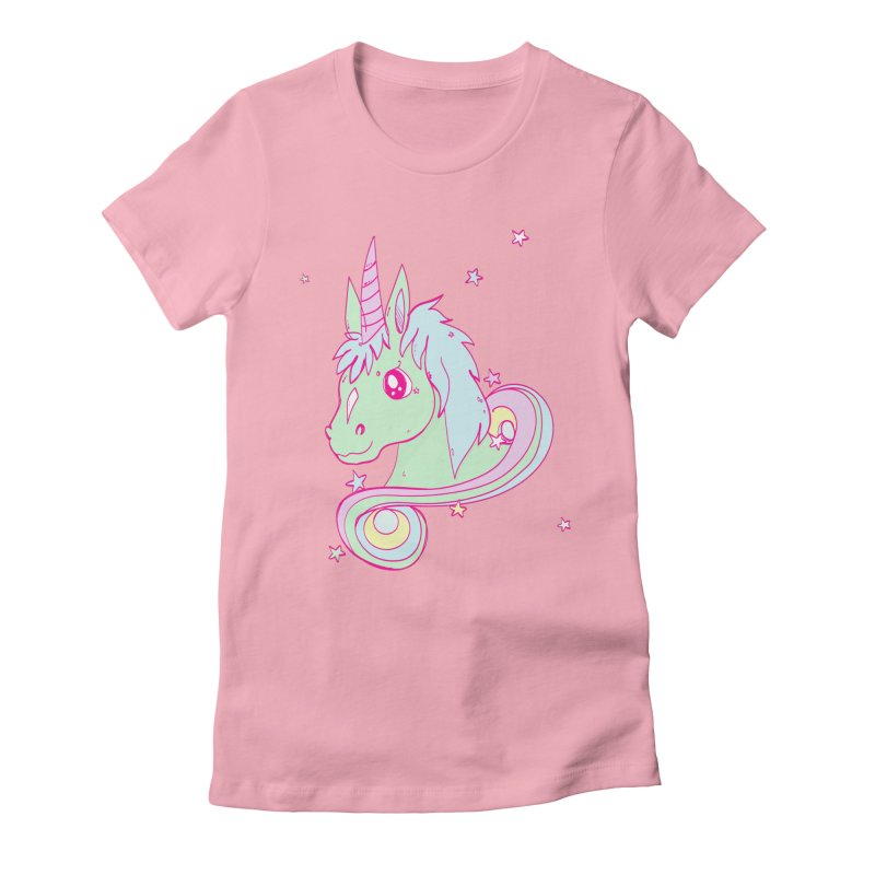 Unicorn mix Women's Fitted T-Shirt by JMK's Artist Shop