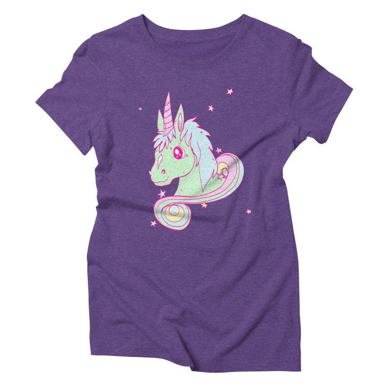 Unicorn mix Women's Triblend T-shirt by JMK's Artist Shop