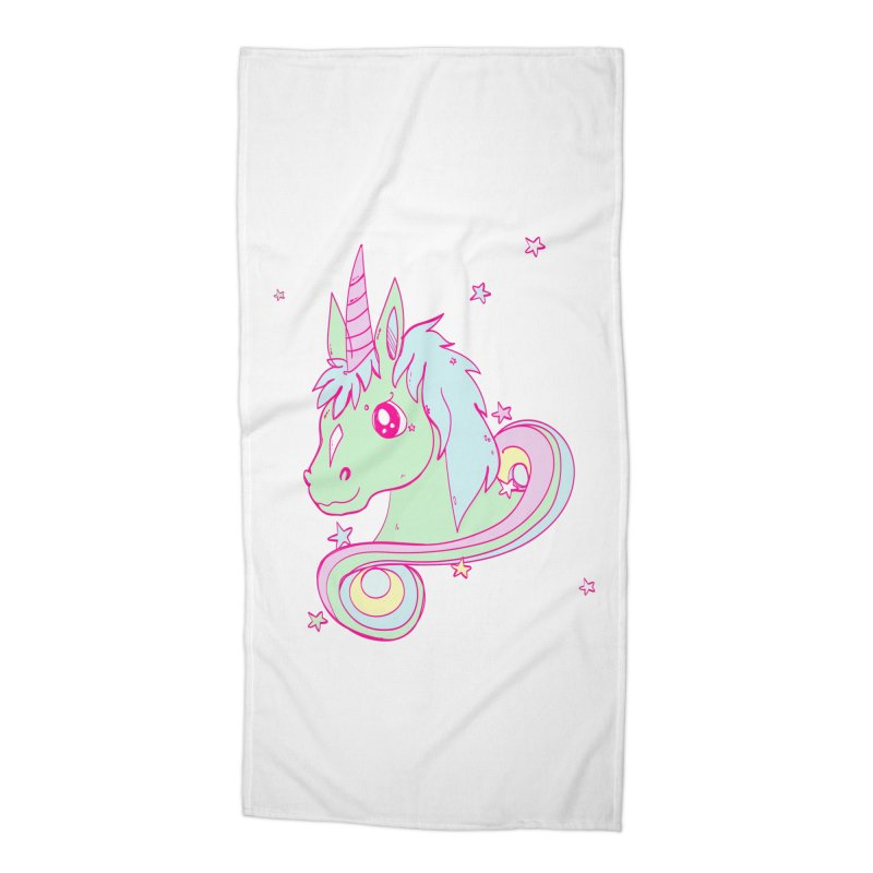 Unicorn mix Accessories Beach Towel by JMK's Artist Shop