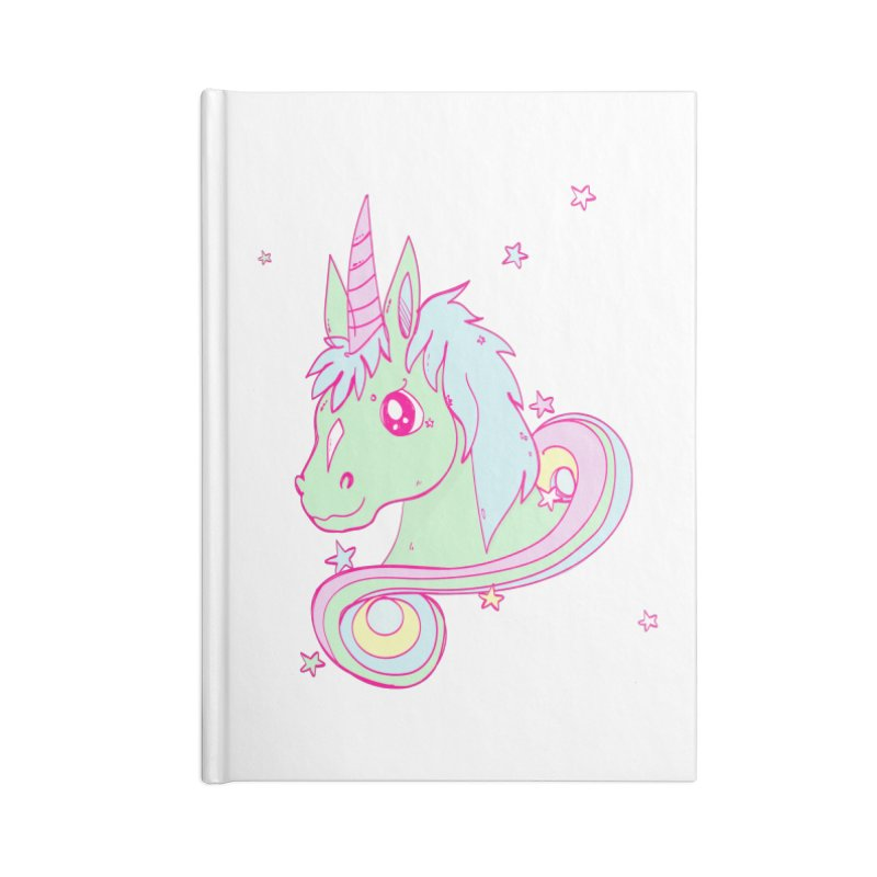 Unicorn mix Accessories Notebook by JMK's Artist Shop