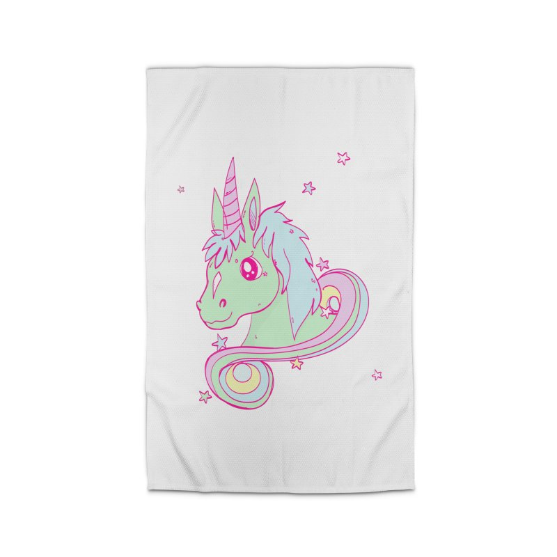 Unicorn mix Home Rug by JMK's Artist Shop
