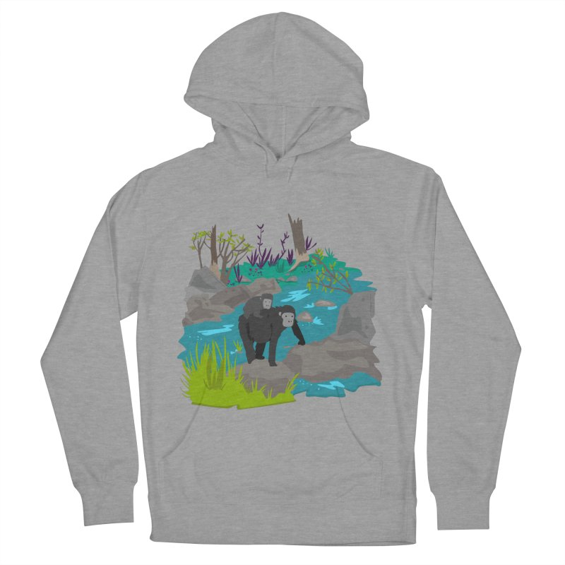 Gorillas Women's Pullover Hoody by JMK's Artist Shop