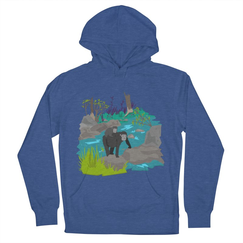 Gorillas Men's Pullover Hoody by JMK's Artist Shop
