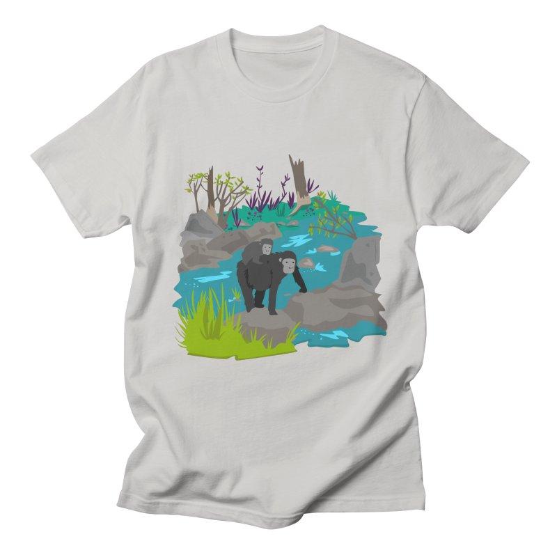 Gorillas Men's T-shirt by JMK's Artist Shop