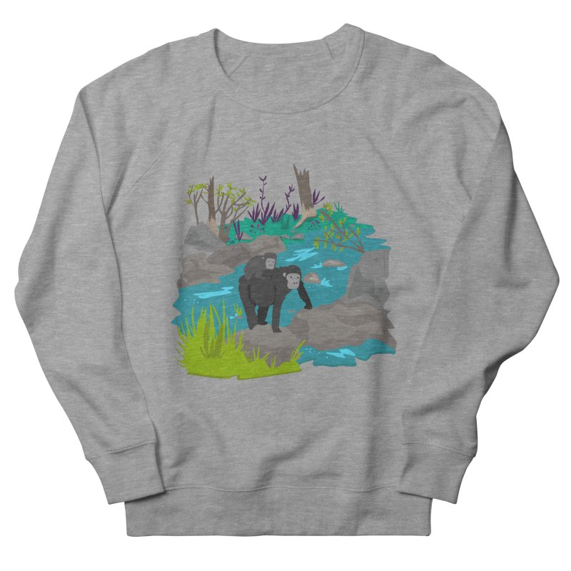 Gorillas Women's Sweatshirt by JMK's Artist Shop
