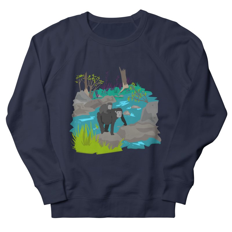Gorillas Men's Sweatshirt by JMK's Artist Shop