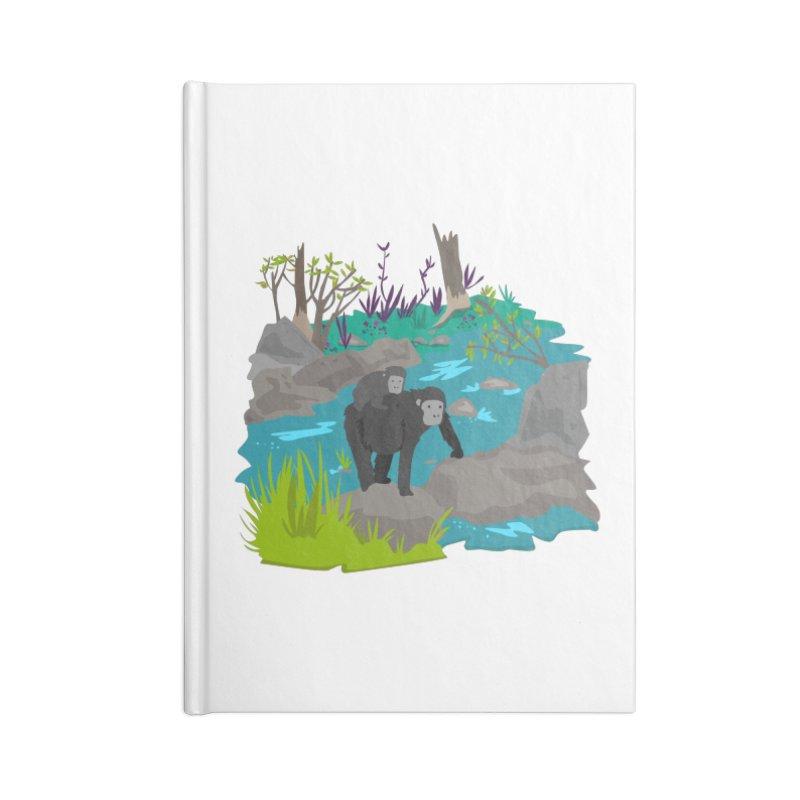 Gorillas Accessories Notebook by JMK's Artist Shop