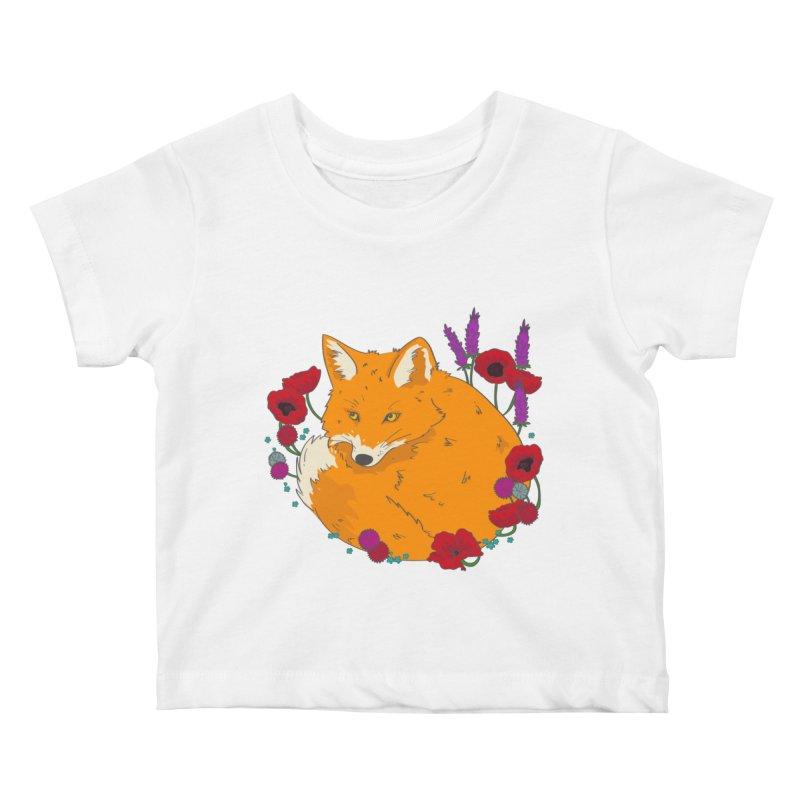 Wildfox Kids Baby T-Shirt by JMK's Artist Shop