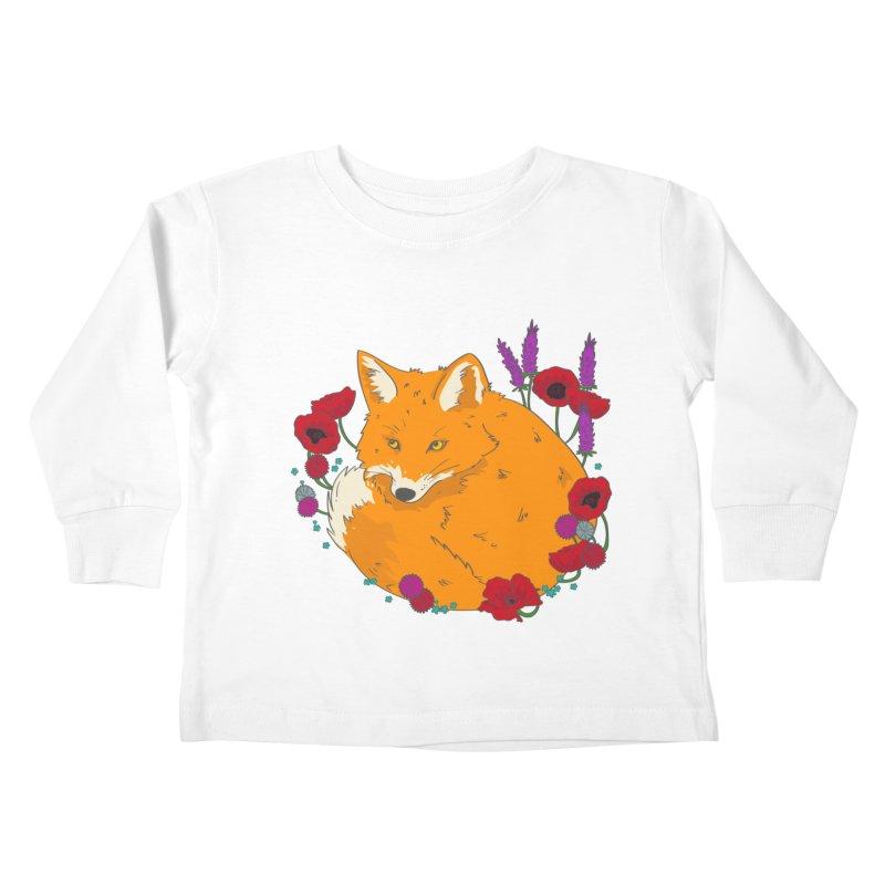 Wildfox Kids Toddler Longsleeve T-Shirt by JMK's Artist Shop