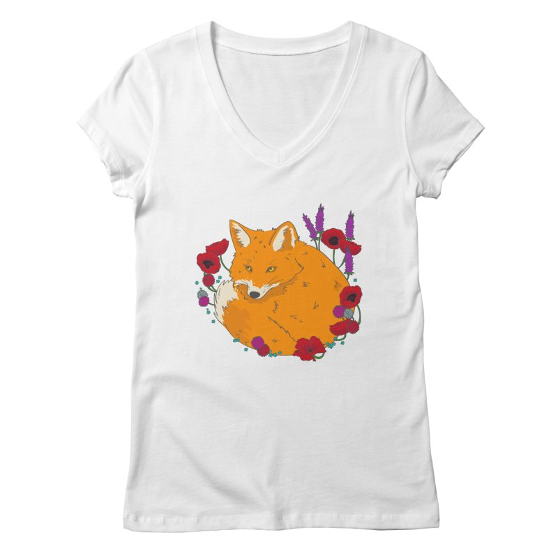Wildfox Women's V-Neck by JMK's Artist Shop