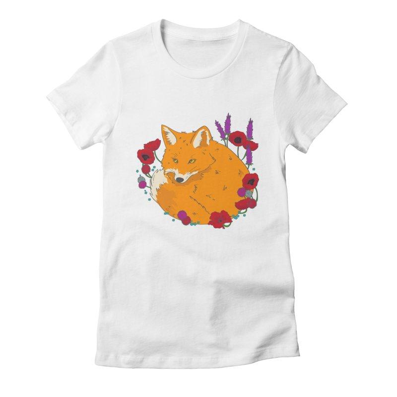 Wildfox Women's Fitted T-Shirt by JMK's Artist Shop