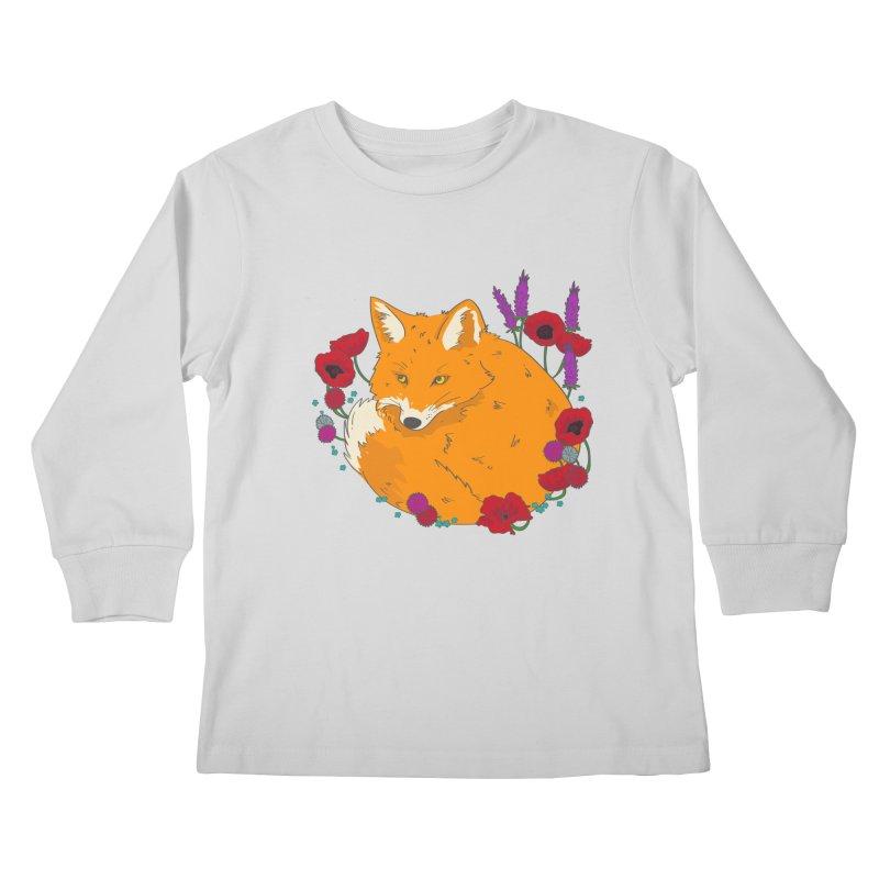 Wildfox Kids Longsleeve T-Shirt by JMK's Artist Shop