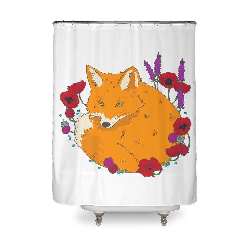 Wildfox Home Shower Curtain by JMK's Artist Shop