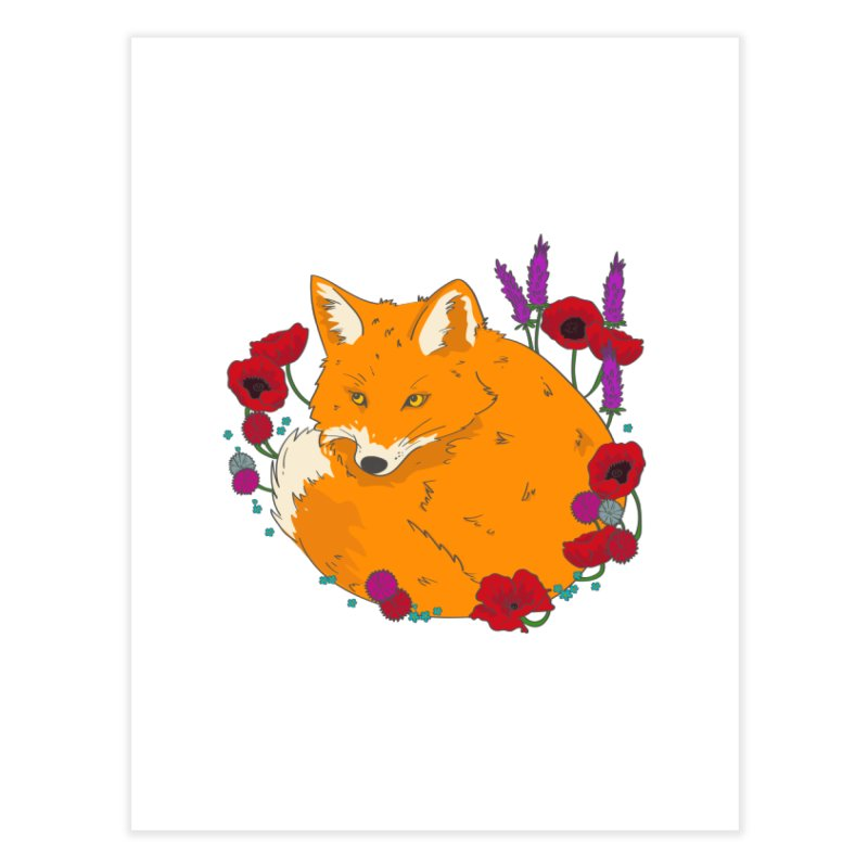 Wildfox Home Fine Art Print by JMK's Artist Shop