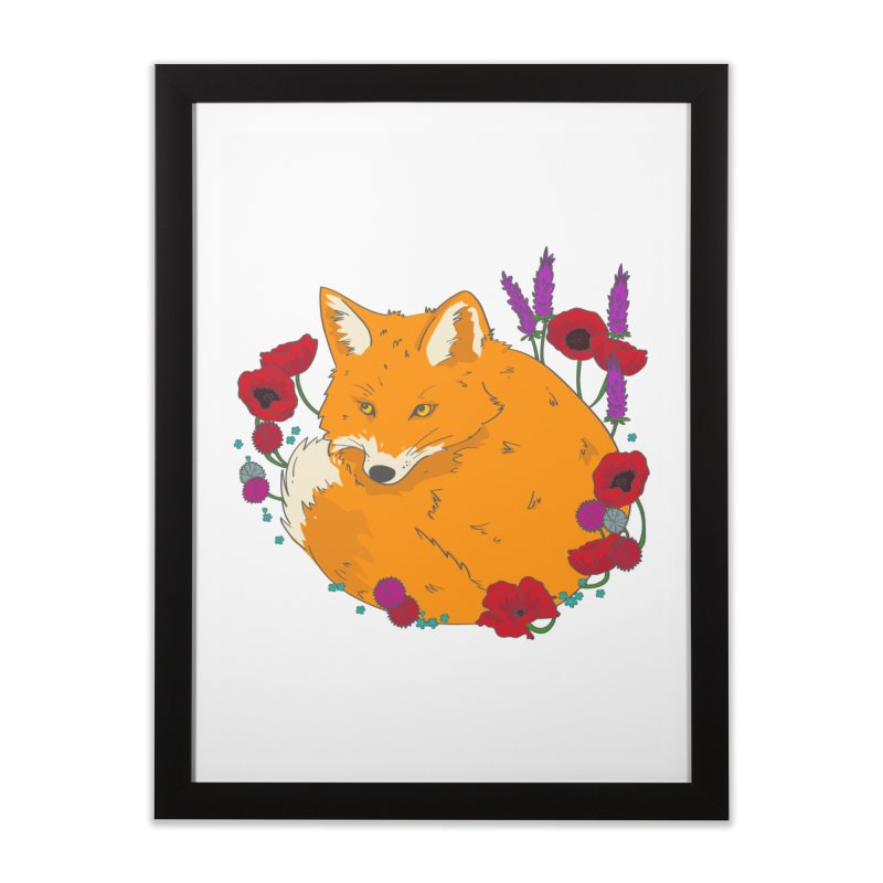 Wildfox Home Framed Fine Art Print by JMK's Artist Shop