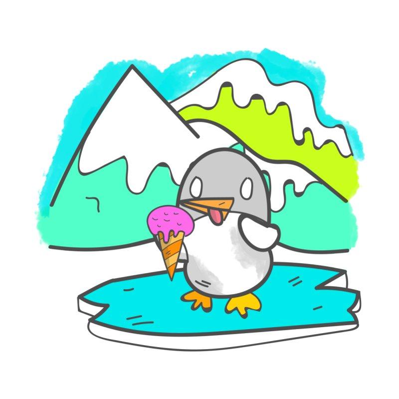 Ice cream Penguin  by JMK's Artist Shop