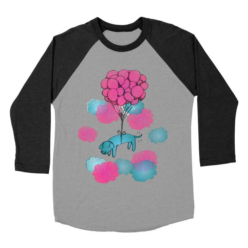 Flying away Women's Baseball Triblend T-Shirt by JMK's Artist Shop