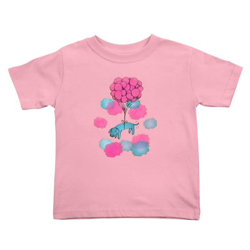 Flying away Kids Toddler T-Shirt by JMK's Artist Shop
