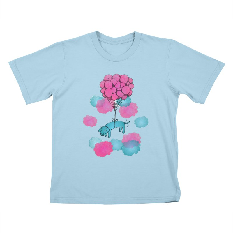 Flying away Kids T-shirt by JMK's Artist Shop